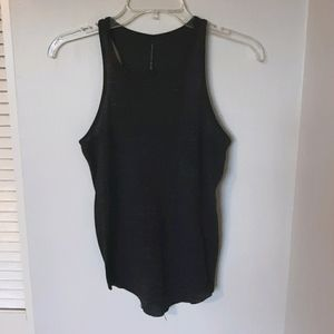 W118 by Walter Baker marled ribbed tank top